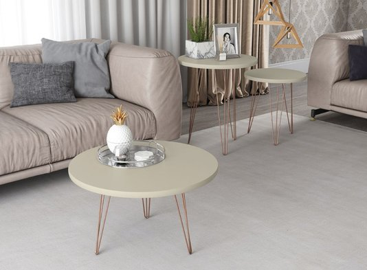Mesa De Centro Patrimar Evolution - Off White
